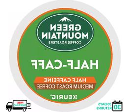 Green Mountain 1/2 Half Caff Keurig Coffee K-cups YOU PICK T