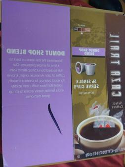 1 CASE OF 56 CAZA TRAIL DONUT SHOP BLEND SINGLE SERVE K CUPS