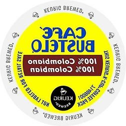 Cafe Bustelo 100 Colombian Kcups 96ct by Cafe Bustelo