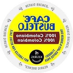 Keurig Cafe Bustelo Coffee 100% Colombian K-Cups Cuban Colom