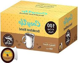 100 Count Breakfast Blend Coffee K Cups for Keurig K-Cup Pod