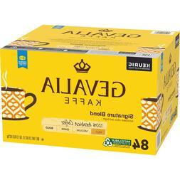 84 Count Gevalia Signature Blend Mild Roast KCup Coffee Pods