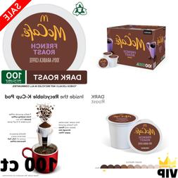 100 ct McCafe French Roast Coffee Pods K-Cups 100% Arabica B