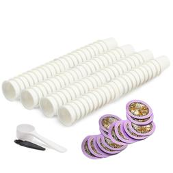 i Cafilas 100 Empty Coffee Pods with Paper Filters for Starb