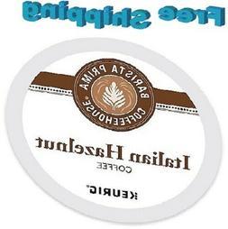 12 Barista Prima Coffee house Italian Hazelnut K cups Keurig