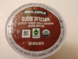 12 Pacific Bold Coffee K cups Keurig Kirkland Organic Dark R
