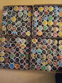 144 k cups lot coffee tea hot