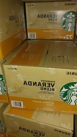 Starbucks Veranda Blend coffee k-cups 72 ct.