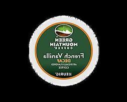 168 K-cups GREEN MOUNTAIN  FRENCH VANILLA DECAFFEINATED COFF