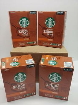 176 Count Starbucks House Blend K-Cups Coffee Pods Best Befo
