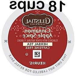 18 CUPS CELESTIAL SEASONINGS CINNAMON APPLE SPICE TEA Keurig