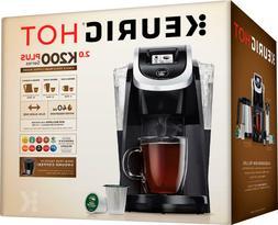 Keurig Hot 2.0 K200 Plus Series - Black - Brand New! - Free