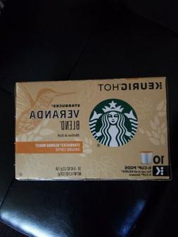 2 - 10 ct. Starbucks Veranda Blend Blonde Roast Coffee Keuri