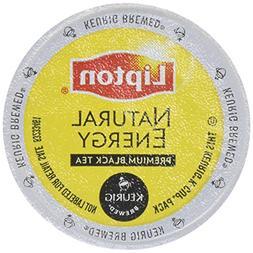 2 Boxes  Lipton Natural Energy Black Tea Keurig 36 Pods Tota