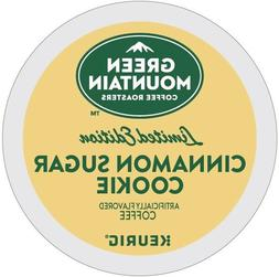 20 Green Mountain CINNAMON SUGAR COOKIE K-Cups Pods Coffee K