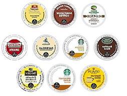 30 Pack - Variety Light Roast Coffee k Cups For Keurig K-Cup