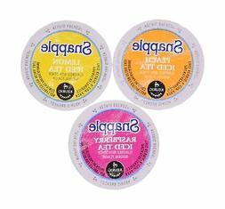 30 Pack - Snapple Variety Iced Tea Sampler K-Cup for Keurig