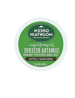 336 K-cups Green Mountain  Single Origin Sumatra Reserve Cof