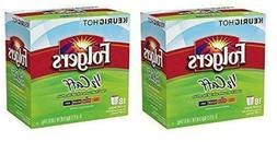 36 Count - Folgers Half Caff Coffee K-Cups for Keurig K Cup