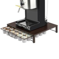 36 K Cups Holder Rack Storage fits Coffee Pod Chrome Drawer