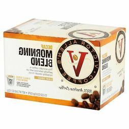 36ct Victor Allen Coffee Decaf Morning Blend, Light Roast Si
