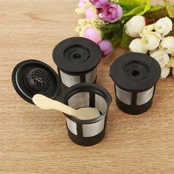 3PCS Reusable Refillable K-Cup <font><b>Coffee</b></font> Fi