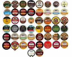 40 K Cups Variety Pack - Coffee, Tea, Cider, Hot Chocolate,