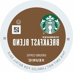 50 K Cups - Starbucks Breakfast Blend - Loose K Cups - 2.0 C
