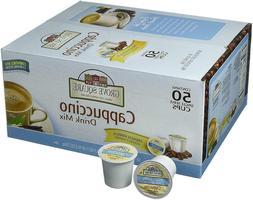 50 Single Serve French Vanilla Cappuccino K Cups Coffee Drin