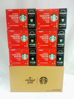 Starbucks Coffee 2019 Holiday Blend KEURIG K-Cups Pods - 60