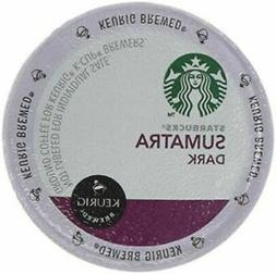 64 Starbucks Sumatra Coffee, Dark Roast, Keurig K-Cups 11/20