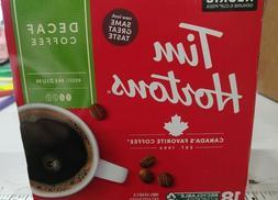 72 COUNT KEURIG K-CUPS TIM HORTONS DECAFE MEDIUM ROAST COFFE