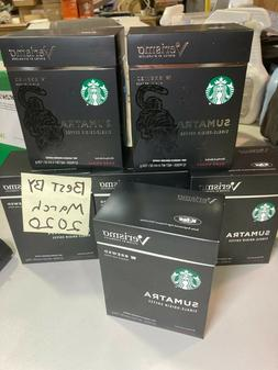 72 pods Verismo Starbucks Sumatra Dark Roast Best by: March