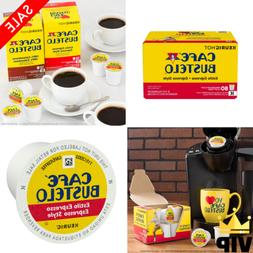 Cafe Bustelo Espresso Style Coffee K-Cups Coffee Snack Rest