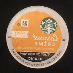 96 Starbucks Caramel Creme  Medium Roast 96ct  Coffee K-Cups