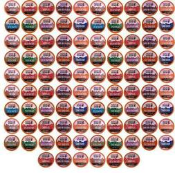 96 Count K cups Variety Pack, No Decaf, for Keurig Pods, Bea