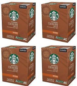 Starbucks 96ct Breakfast Blend K-Cups Keurig Medium Roast 10