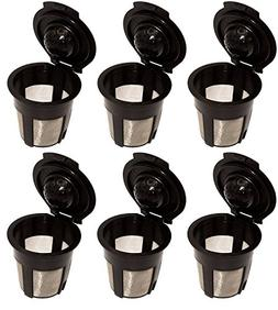 Blendin 6 x Single Reusable Refillable Coffee Pod Filters Co