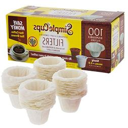 Disposable Filters for Use in Keurig Brewers - Simple Cups -