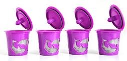 FANOR Reusable K cup Coffee Filter for Keurig 2.0 and 1.0 Br
