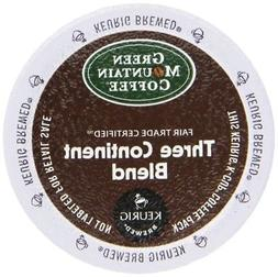Green Mountain, Three Continent 96 k cups read description