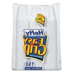 Hefty Easy Grip 3oz White Plastic Bathroom Cups, 1800/ctn