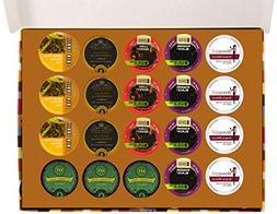 Herbal Tea Deluxe Variety Pack for Keurig K-Cups Brewers, 20