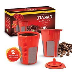 Housewares Solutions 2 Refillable/Reusable Carafe K Cup Filt
