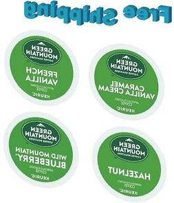 Keurig Green Mountain Flavored Coffee Variety Pack 154 k-cup