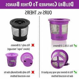 Reusable K Cups for Keurig 2.0 & 1.0 4PACK Coffee Makers. Un