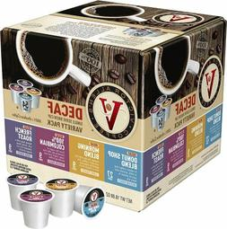 Victor Allen Coffee Single Serve K-cup Decaf Coffee Blend Va