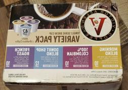 Victor Allen Coffee Variety Pack Cup Single Serve K-cup, 42
