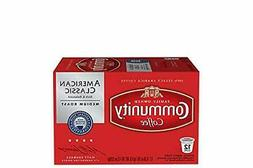 Community Coffee American Classic, Medium Roast, Box of 12 K
