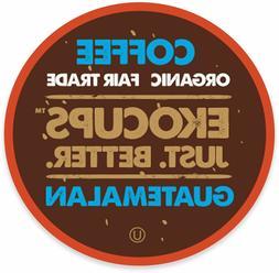 EkoCups Artisan Organic Guatemalan Coffee 40 to 160 Keurig K